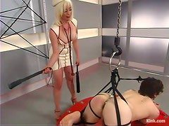 Bondage suspension and some pain from Lorelei Lee