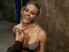 Horny Holly Heart gets toyed and dominated by her master