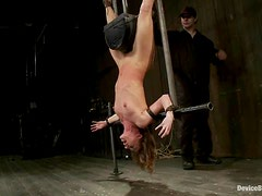 Ariel X and Cherry Torn get hanged up upside down and tortured