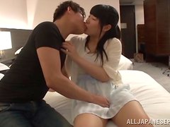 Chigusa Hara likes to be nasty with hard cock.