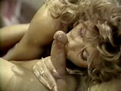 Appetizing curly haired babe loves facesitting and sucking big cock