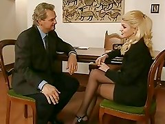 Vintage blonde thick dick anal