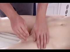 young Hot  Blond gets an erotic massage  and gets fucked