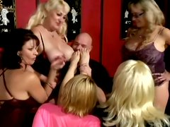This group sex video involves a lot of hot hardcore fucking