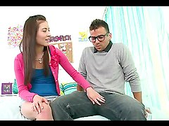 Rough sex with the cock thirsty teen Bliss Dulce