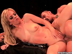Angela Stone shows her slutty side to hot dude