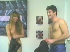 Horny retro girl gets pounded by her colleague