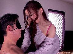 Japanese Couple Gets Down And Dirty In Hardcore Action