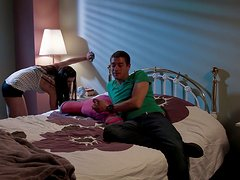 Casey Calvert Gets Hot and Horny for the Big Dick Sensitive Type!