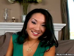 POV fun with a kinky Asian sex doll Asa Akira