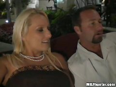 Spectacular Blonde MILF Gets Her Pussy Banged