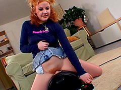 Hunger pushes this amateur redhead to some measures