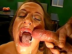 Gina and Celine are sucking these nice big dicks