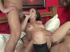 Holly West fuck in her lovely anal and puss