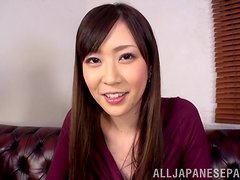 Hot POV fun with the kinky Asian babe Kotone Amamiya