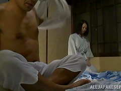 Hot sex with a horny Asian milf on camera