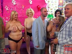 Crazy Group Sex Party With Sucking And Fucking