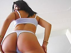 Pleasuring anal sex for a cock thirsty brunette