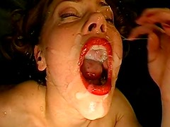 Bukkake with Magdalena is absolutely insane