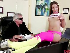 DevilsFilm Dani Daniels Fucked On Desk