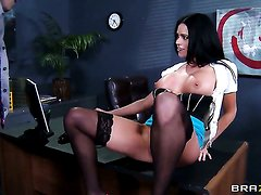 Johnny Sins has unthinkable oral sex with Aryana Augustine