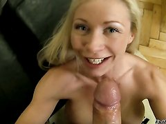Helena White gets her throat fucked