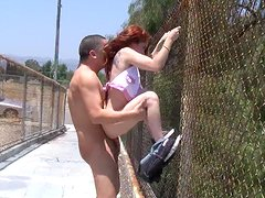 Stunning Jessi Palmer Goes Hardcore In Several Places Outdoors