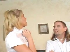 A very private lesson with a sizzling one Sasha Knox
