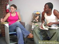 Unbelievable Brunette Has Interracial Sex In A Reality Video
