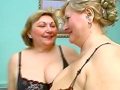 Enjoy nasty moms masturbating together