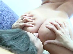Hot lesbian show with two lovely gals