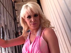 Blonde MILF Gets Her Pussy Destroyed by Black Cock