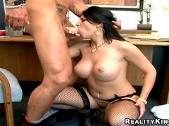 Tasty Charisma Cappelli Gets Her Pussy Fucked At The Office