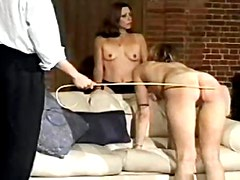 Spanking punishment of pretty girls