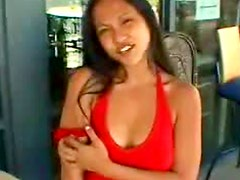 Big breasted Asian girl fucked hard