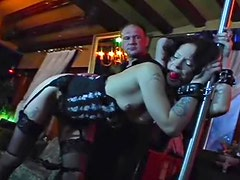 Kinky slut gagged and abused