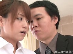 Office perversions with a horny Japanese siren