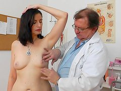 Mature lady goes to the doc