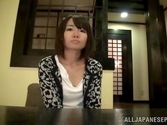 A desirable Japanese babe wants to be riding it