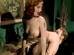 Kinky and filthy whore with red hair gets fucked hard