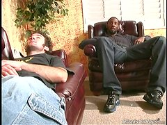 Striking Jason Has Interracial Sex With Two Horny Guys