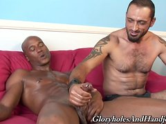 Delicious Tom Colt Has Interracial Sex With A Kinky Guy