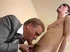 Cute twink  fucked very hard in his mouth and ass