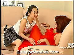 Elinor&Isidore pussylicking mature on video