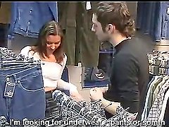 Russian stylish student gets quickly fucked in a store (Try something different » Free)