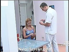 Antoinette&Maurice naughty nylon video