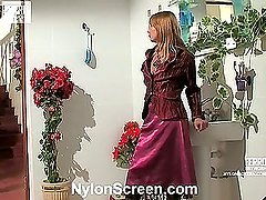 Alice&Mike red hot nylon video