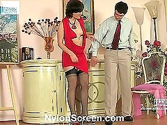 Gwendolen&Adam furious nylon action