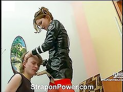 Irene&Randolph strapon submission movie