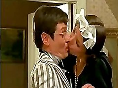 Danish maid gets seduced by boss and gets cock in mouth and pussy